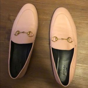 Gucci Brixton loafers size 39 pink